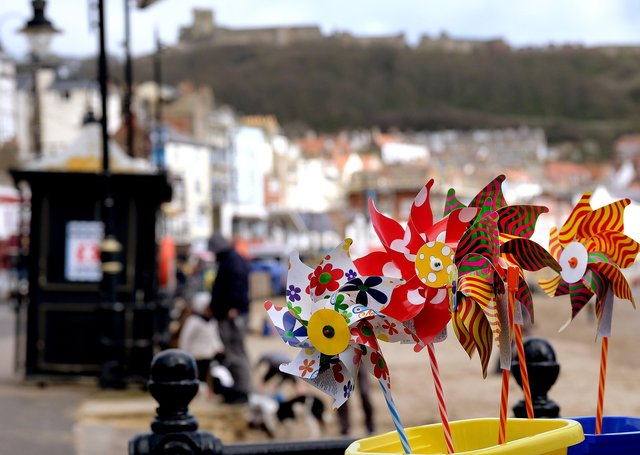 Scarborough, Whitby and Filey's seafronts are to benefit from £1m of investment.