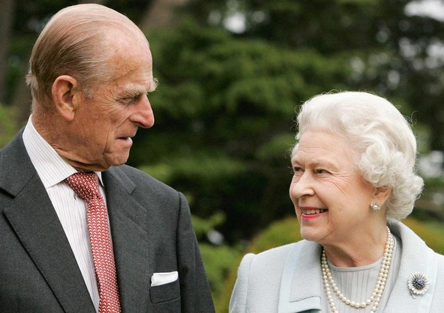 This was the Queen and Duke of Edinburgh on their diamond wedding anniversary in 2007. Photo: Tim Graham / PA.