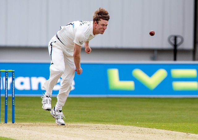 Steve Patterson and Yorkshire are playing Kent this week (Picture: Bruce Rollinson)