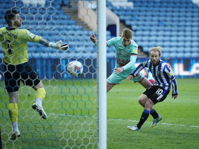 GOAL: Jay Fulton puts Swansea City 2-0 up