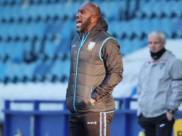 FRUSTRATION: Sheffield Wednesday manager Darren Moore