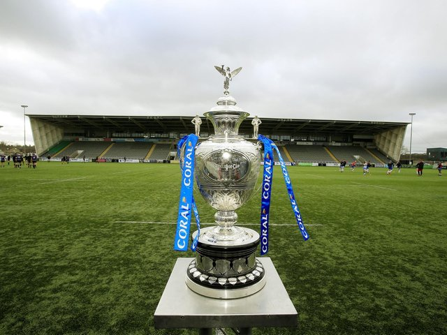 The Betfred Challenge Cup (SWPIX)