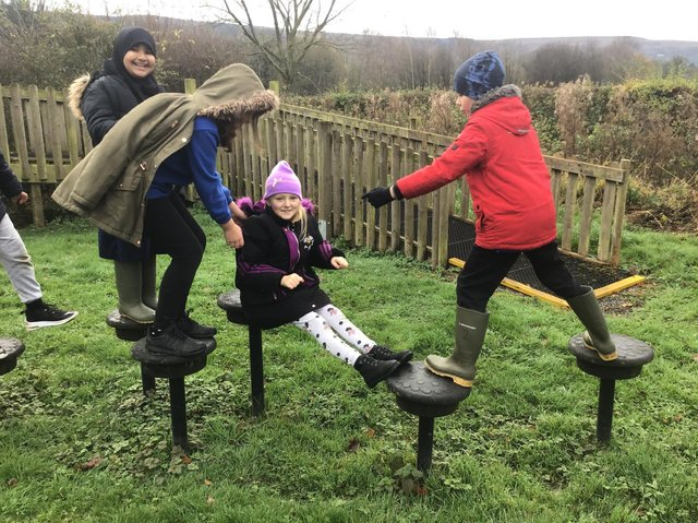 """Nell Bank, nearly Ilkley, is putting on day trips for just £1 for children from the most deprived areas of Bradford, Keighley and Leeds, in a campaign they've dubbed """"Wellbeing in Wellies."""""""