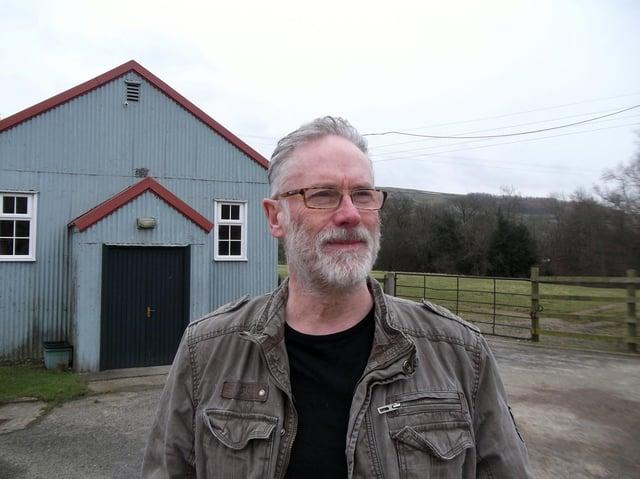 Nigel Burnham, promoter at The Band Room