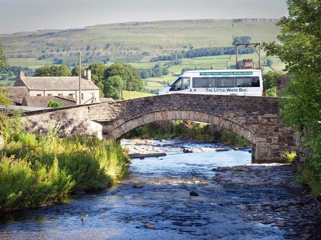 The report said residents outside towns had little option but to use cars due to a lack of bus services. (Credit: North Yorkshire County Council)