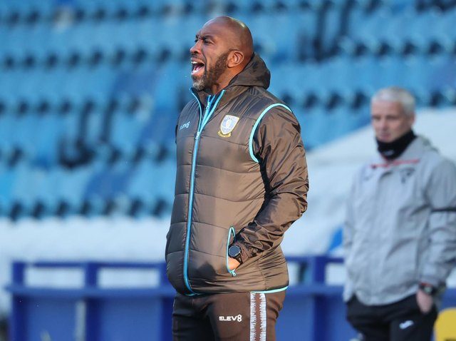 ILLNESS: Darren Moore took the team on Tuesday, but complained of feeling unwell afterwards