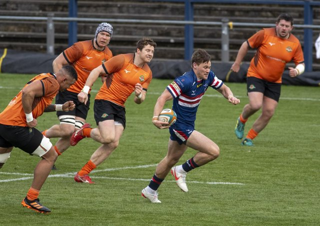 Doncaster Knights' Charlie Foley. Picture: Tony Johnson