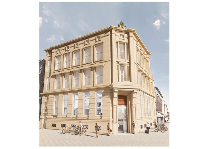 The former HSBC building on Whitefriargate in Hull city centre is set for a new lease of life.