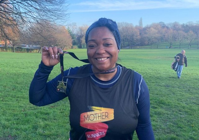 Linda Walmsley found running helped her mental health during lockdown. She is now working with the victims of modern day slavery