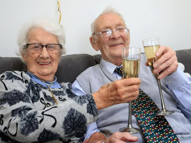 Dennis, 89, and Maureen, 88, hit it off and enjoyed a whirlwind romance before tying the knot in 1951.