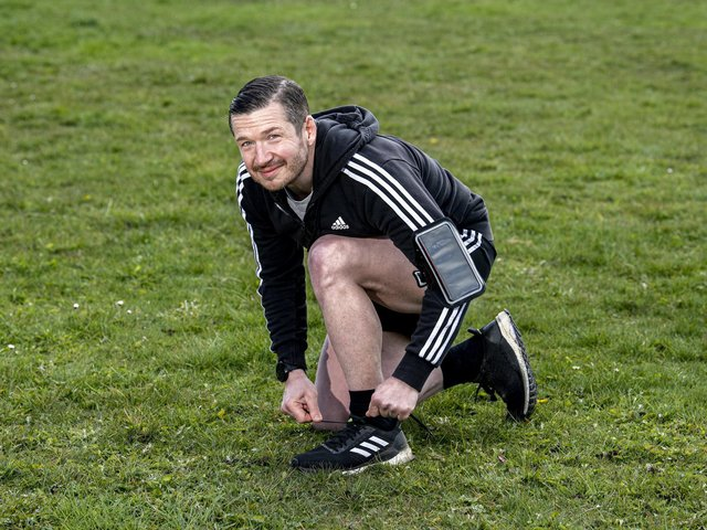 Peter Benefer, an international recruitment consultant, is set to run 100 half marathons in 100 days to raise funds for Hedgehog Emergency Rescue.