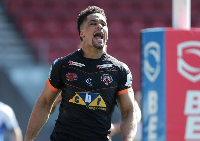 Castleford Tigers' Derrell Olpherts (Picture: PA)