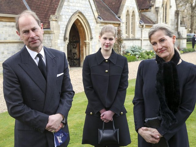 The Duke of Edinburgh's title will eventually pass on to his youngest son the Earl of Wessex