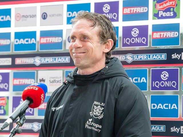 Hull FC coach Brett Hodgson