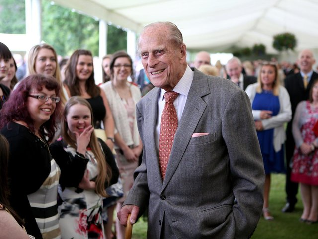 Prince Philip was a formidable interviewee, says Christa, but he was also fun. (PA).