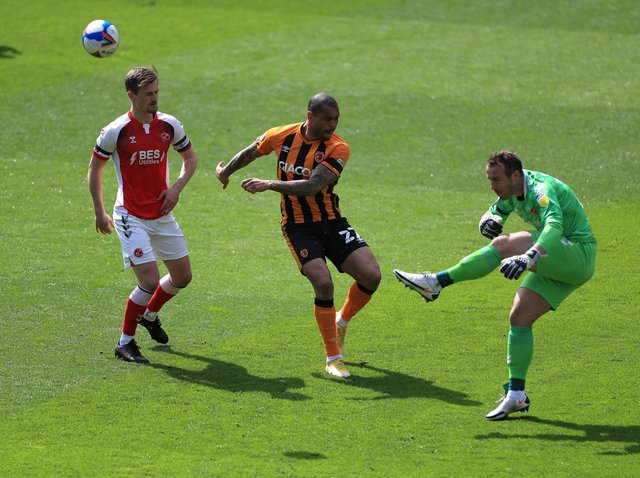 RESULT: Hull City 2-1 Fleetwood Town. Pictures: PA Wire.
