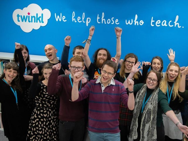 Members of the team at Twinkl