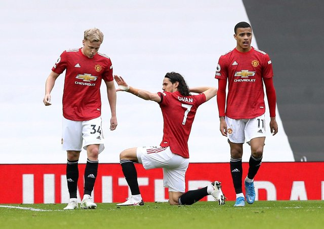 Power play: Manchester United are one of the Premier League clubs said to have signed up to the proposed European Super League. Picture: Martin Rickett/PA Wire.