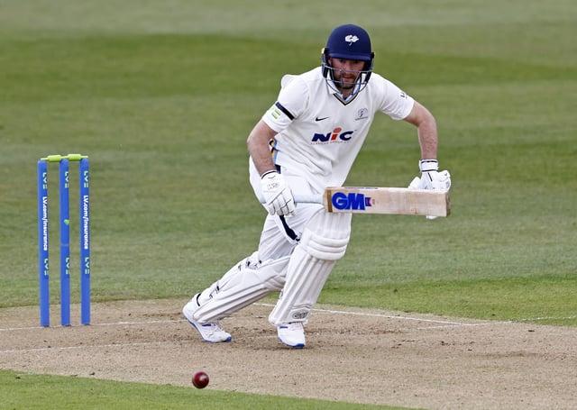 Adam Lyth: Yorkshire batsman has started the season with six successive half-centuries. (Picture: Max Flego)