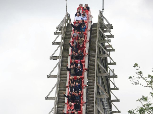 The future of the Ultimate rollercoaster at Lightwater Valley hangs in the balance