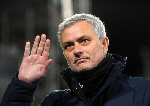 Axed: Tottenham Hotspur manager Jose Mourinho.