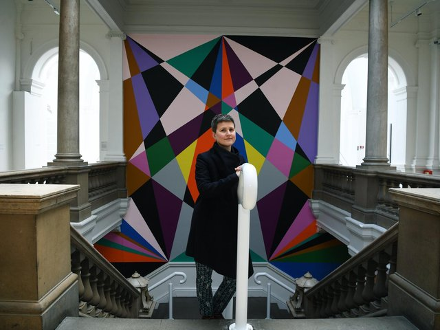Art historian and curator Rebecca Wade at Leeds Art Gallery. (Picture: Jonathan Gawthorpe).