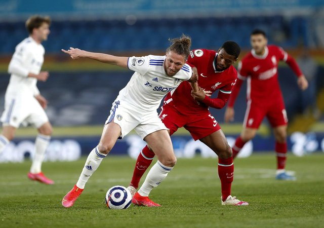 MOVING ON: Liverpool, who drew 1-1 at Leeds United last night, are one of six English Premier League clubs to form part of the proposed breakaway for a new European Super League. Picture: Lee Smith/PA