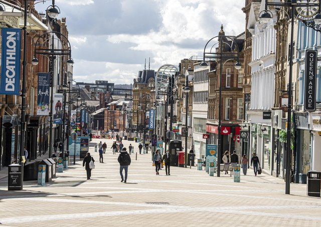 What will the lifting of the lockown mean for high streets and town centres?