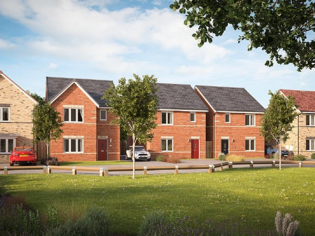 140 homes are to be built in Castleford.