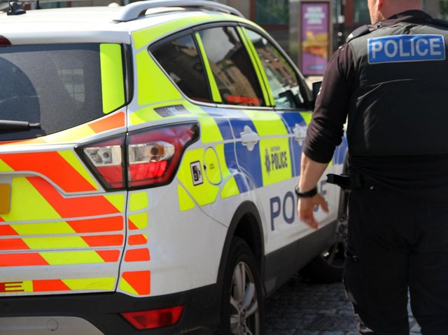 The South Yorkshire Police firearms officers were on routine patrol when they saw a car which had stopped in a live lane between junction one of the M18 and the M1 link road, just after 9.30am on Sunday, April 18.