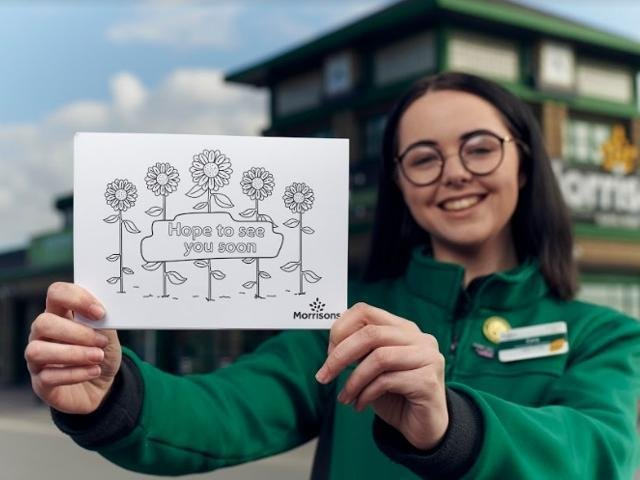 Morrisons will be giving away half a million free postcards in a bid to help tackle loneliness within communities.