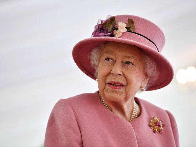 The monarch will today spend her 95th birthday privately, five days after she buried her husband of 73 years, the Duke of Edinburgh.