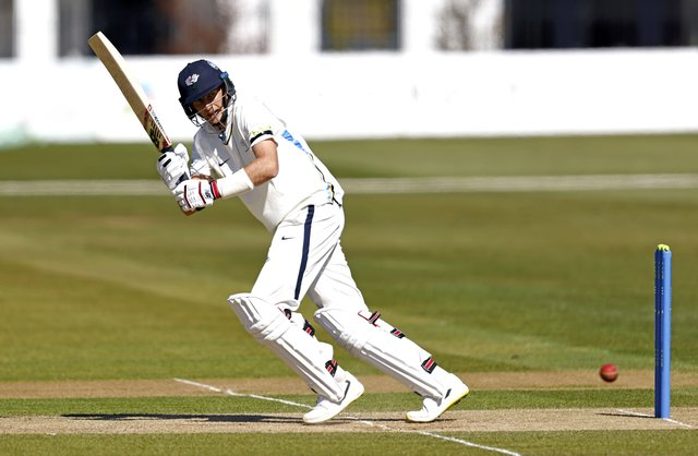 Busy year: England captain and Yorkshire batsman Joe Root. Picture: Max Flego.
