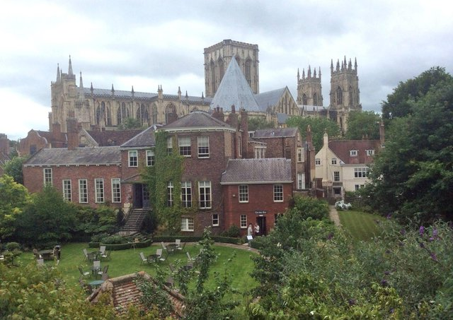 York Minster Cathedral from the city walls of York. Savills' York office reported a rise in the number of people returning to live in their home city. Picture: Tom Ross/PA Wire