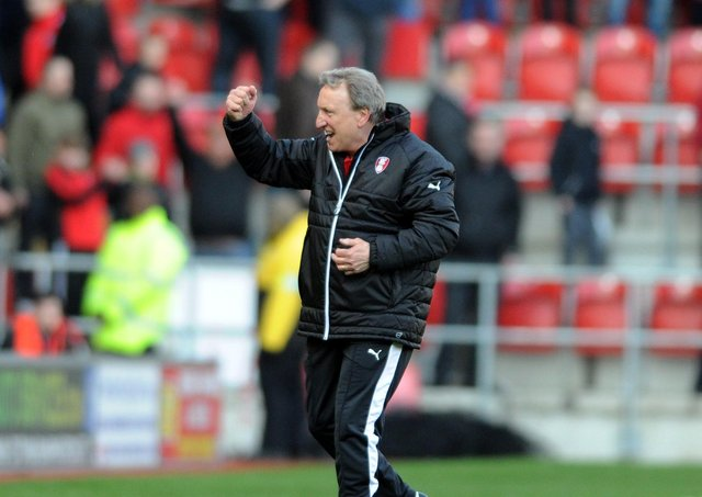 Former saviour: Neil Warnock saved Rotherham United back in 2016 but could nudge them towards relegation tonight. (Picture: Tony Johnson)