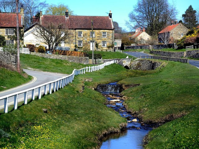 Hutton-le-Hole in the North York Moors