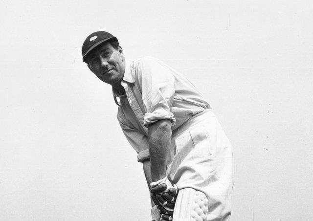 Double honours: Norman Yardley. Picture: Getty Images