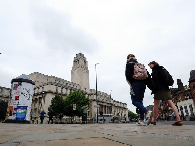 The University of Leeds, like many other universities around the country, carry out important research work. (Simon Hulme).