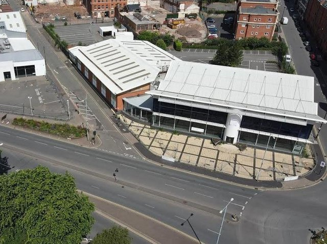 The 2.6 acre city centre site in Birmingham was previously occupied by a Sytner BMW dealership