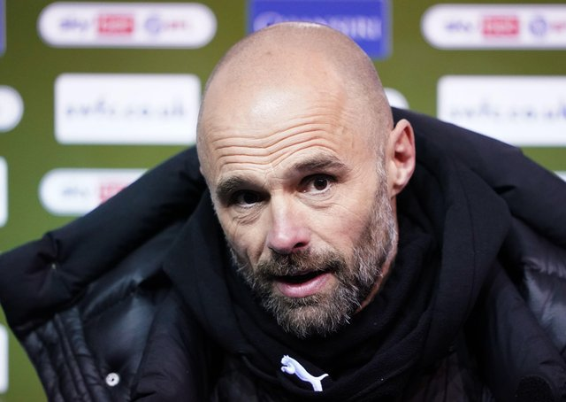 Rotherham United manager Paul Warne: Still fighting.
