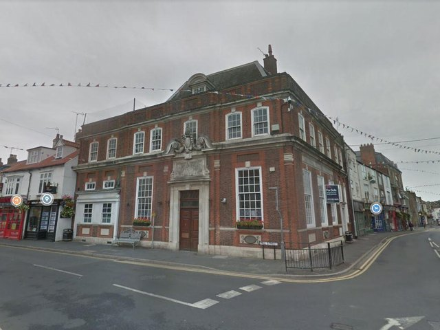 The former NatWest on the corner of Market Place and Mill Street in Driffield