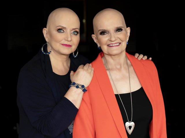 Linda and Anne Nolan. Picture: Dan Charity/PA.