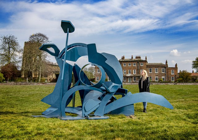 Zillah Bell looks at the exhibition of Michael Lyons' monumental sculptures at Thirsk Hall & Sculpture Park. Picture Tony Johnson