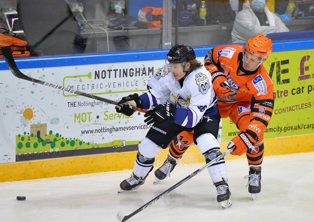 PACK YOUR BAGS: Steelers' defenceman Sam Jones has earned a call-up to the GB squad for next month's World Championships in Riga. Picture courtesy of Dean Woolley.