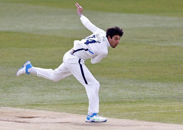Yorkshire's Duanne Olivier: Three wickets. Picture: Max Flego