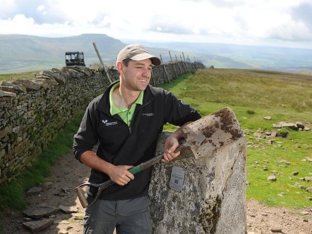 Former apprentice Josh Hull was the last Three Peaks ranger
