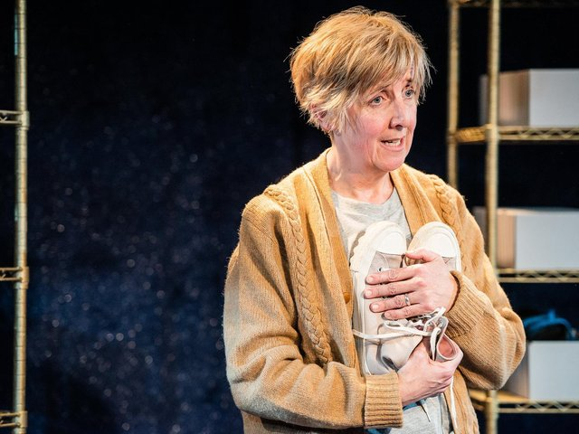 Julie Hesmondhalgh as she appears in the new play coming soon to Scarborough, York and Hull. (Picture: Savannah Photographic).