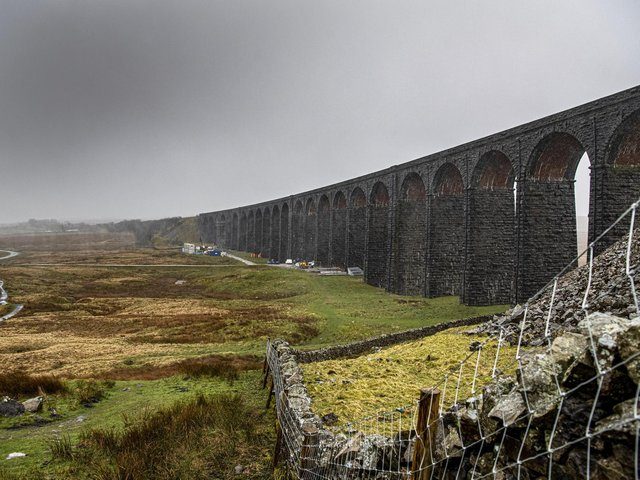 Ribblehead Viaduct is one of the big draws for passengers