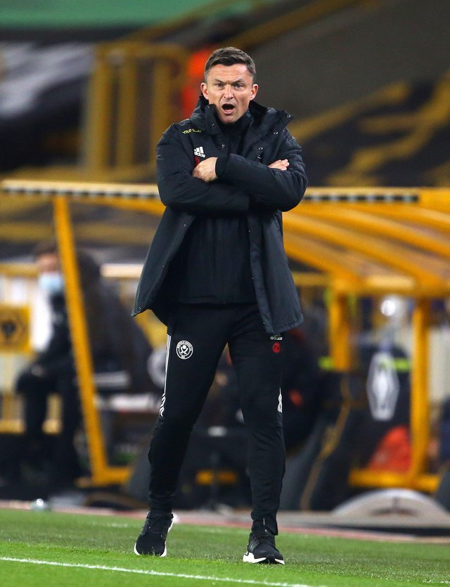Planning ahead: Sheffield United manager Paul Heckingbottom. Picture: Geoff Caddick/PA Wire.