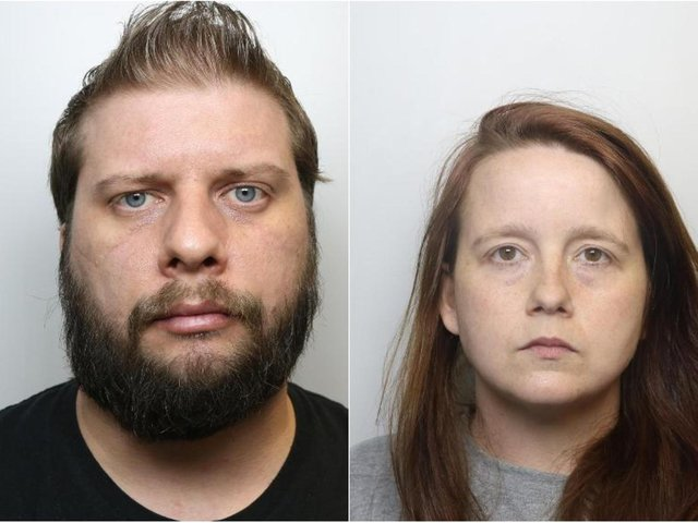 Robert Stanley, 36, and his partner Danielle Schofield, have been jailed for sexually abusing a child.